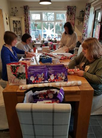 Wrapping Selection Boxes & Books - Dec 18